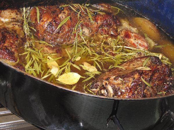 Wildschweinbraten Pulled Pork