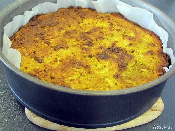 Herzhafter Mohrenkuchen Mit Zucchini Speck Paleo